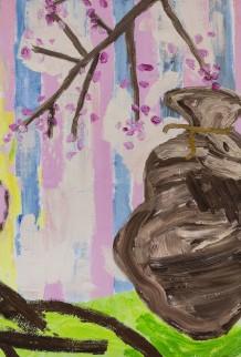In The Springtime, 101 x 68 cm, olie på lærred