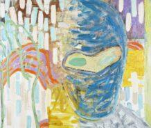 """""""Tyven som altid er der""""', 138 x 161 cm, olie på lærred, 2016"""